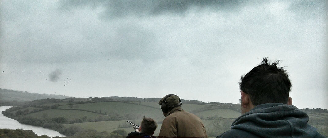 Clay Pigeon Shooting - A Hit All Round